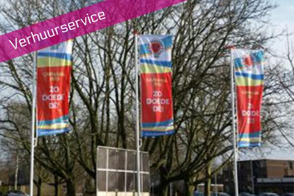 Verhuurservice vlaggen